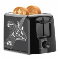 Select Brands Star Wars 2-Slice Toaster - Black/White
