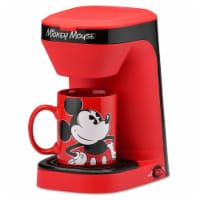 Select Brands Disney Mickey Mouse 1-Cup Coffee Maker with Mug