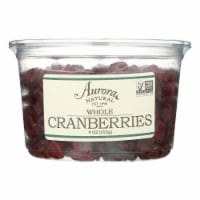 Aurora Natural Products - Whole Cranberries - Case of 12 - 9 oz.