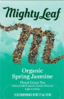 Mighty Leaf Jasmin Du Printemps Biologique Tea Sachets 15 Count