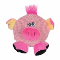 SmartPetLove Tender-Tuff Round Pink Pig Dog Toy