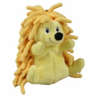 SmartPetLove Tender-Tuff Tiny Yellow Hedgehog Dog Toy
