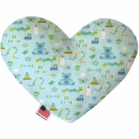 Mirage Pet 1194-SFTYHT8 Little Boy Blue 8 in. Stuffing Free Heart Dog Toy
