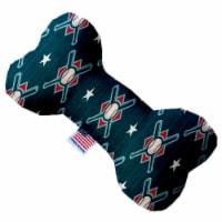 Mirage Pet 1231-SFTYBN6 Bats & Balls 6 in. Stuffing Free Bone Dog Toy - 1