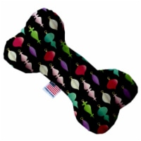 Mirage Pet 1298-SFTYBN8 Classic Christmas Ornaments 8 in. Stuffing Free Bone Dog Toy - 1