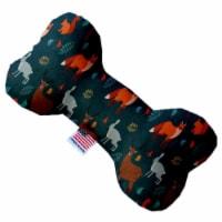 Mirage Pet 1324-SFTYBN8 Fall Friends 8 in. Stuffing Free Bone Dog Toy - 1