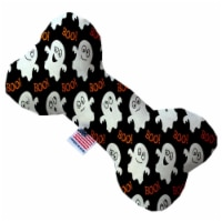 Mirage Pet 1335-SFTYBN8 Little Boo Who 8 in. Stuffing Free Bone Dog Toy