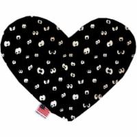 Mirage Pet 1347-SFTYHT8 Eyes Eyes Everywhere 8 in. Stuffing Free Heart Dog Toy - 1