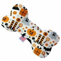 Mirage Pet 1357-SFTYBN6 Classic Halloween 6 in. Stuffing Free Bone Dog Toy