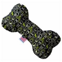 Mirage Pet 1359-SFTYBN10 Skater Skulls 10 in. Stuffing Free Bone Dog Toy - 1