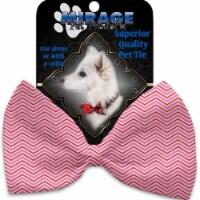 Mirage Pet 1374-BT Valentines Day Chevron Pet Bow Tie - 1