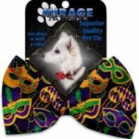 Mirage Pet 1377-BT Mardi Gras Masquerade Pet Bow Tie - 1