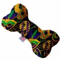 Mirage Pet 1377-TYBN6 Mardi Gras Masquerade 6 in. Bone Dog Toy