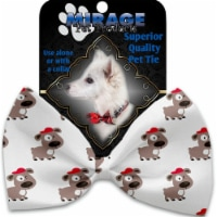 Mirage Pet 1173-VBT Fresh Pup Pet Bow Tie Collar Accessory with Cloth Hook & Eye