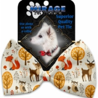 Mirage Pet 1186-VBT Fox & Friends Pet Bow Tie Collar Accessory with Cloth Hook & Eye - 1