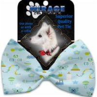 Mirage Pet 1194-VBT Little Boy Blue Pet Bow Tie Collar Accessory with Cloth Hook & Eye - 1