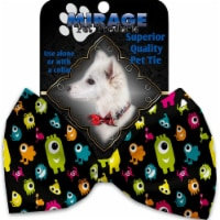 Mirage Pet 1333-VBT Monster Zoo Pet Bow Tie Collar Accessory with Cloth Hook & Eye