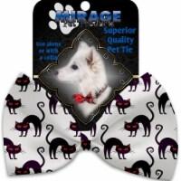 Mirage Pet 1351-VBT Purple Kittie Pet Bow Tie Collar Accessory with Cloth Hook & Eye - 1