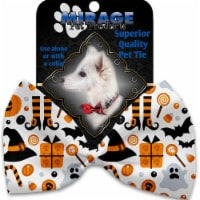 Mirage Pet 1357-VBT Classic Halloween Pet Bow Tie Collar Accessory with Cloth Hook & Eye - 1