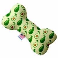 Mirage Pet 1251-CTYBN10 Avocado Paradise Canvas Bone Dog Toy - 10 in. - 1