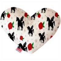 Mirage Pet 1370-CTYHT6 Magical Love Canvas Heart Dog Toy - 6 in.