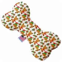 Mirage Pet Products 1397-SFTYBN10 10 in. Baby Rudy Stuffing Free Bone Dog Toy - 1