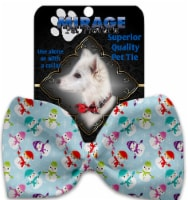 Colorful Frosty Pet Bow Tie Collar Accessory with Velcro