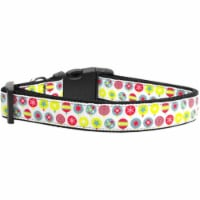 Mirage Pet Products 125-036 CT Christmas Ornament Nylon Cat Collar - 1