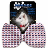 Mirage Pet Products 1395-BT Democrat Pet Bow Tie