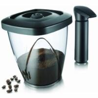 Tomorrows Kitchen 2883460 44 oz Vacuum Coffee Saver Includes Black Vacuum Pump - Gift Box - 1