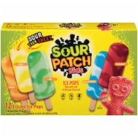 Sour Patch Kids Variety Ice Pops 12 Count