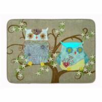 The Friendly Ladies Owl Machine Washable Memory Foam Mat