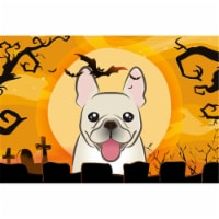 Halloween French Bulldog Fabric Placemat