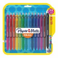 0.7 mm Inkjoy Retractable Gel Pen, Assorted Ink - 14 per Pack - 14