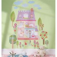 Peel & Stick Wall Play Play House