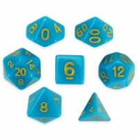 Polyhedral Dice & Skystone - Set of 7