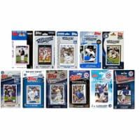 MLB Toronto Blue Jays 11 Different Licensed Trading Card Team Sets