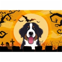 Halloween Bernese Mountain Dog Fabric Placemat