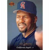 Autograph Warehouse 366282 Lee Smith Autographed Baseball Card - California Angels 1995 Upper - 1
