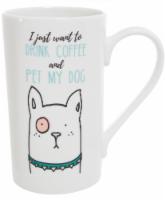 Formation Brands Dog Latte Mug - White