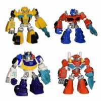 Transformers Rescue Bots 4-Pack Optimus Prime Bumblebee Heatwave Chase Hasbro - 1 unit