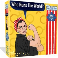 Ruth Bader Ginsberg RBG Jigsaw Puzzle 500pcs Women in Power Illustration Design All Ages - 1 unit
