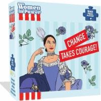 Alexandria Ocasio-Cortez AOC Puzzle 500pcs Women in Power Illustration Design All Ages Mighty - 1 unit