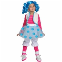 Lalaloopsy Mittens Girls size S 4/6 Deluxe Costume Rubie's - 1 unit