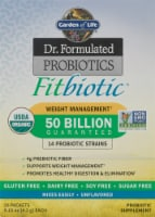 Garden of Life Dr. Formulated Organic Fitbiotic Weight Management Packets