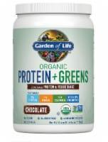 Garden of Life Organic Protein + Greens Chocolate Protein & Veggie Shake