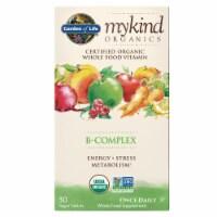 Garden of Life Mykind Organics Whole Vitamin B-Complex Tablets