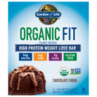 Garden of Life Organic Fit Chocolate Fudge Bars