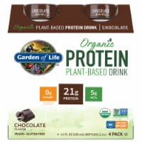 Organic Chocolate Plant Protein Shake