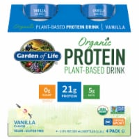Organic Vanilla Plant Protein Shake